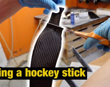 how a hockey stick is made 2019 Finland