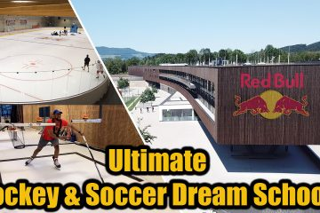 redbull academy ice hockey and football dream school